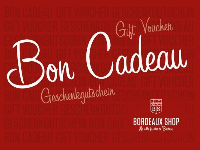 Bon cadeau Bordeaux shop