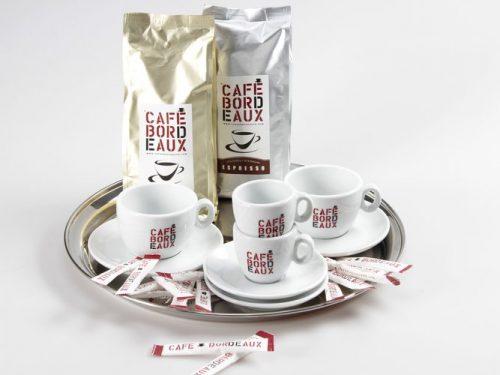 Coffret Café de Bordeaux et tasses