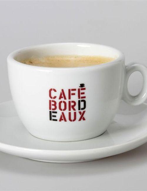 Tasse café de bordeaux