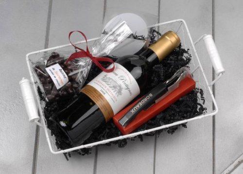 Coffret cadeau vin de Bordeaux