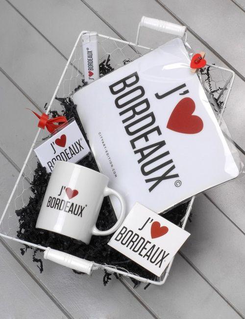 coffret cadeau J'aime Bordeaux