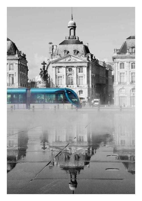 Carte postale Bordeaux Miroir d'eau