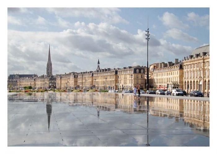 Carte postale Bordeaux Le Miroir d´eau