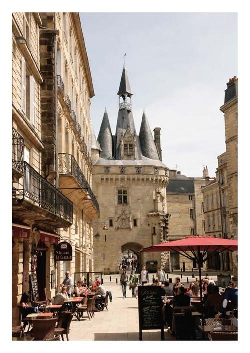 Carte postale Bordeaux place du palais