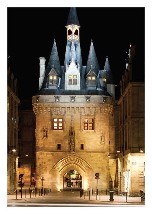 Carte postale Bordeaux Porte Cailhau
