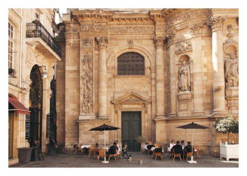 Carte postale Bordeaux Un moment à Notre Dame