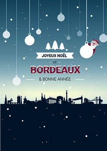Carte de Voeux de Bordeaux