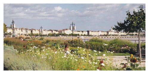 Carte postale Bordeaux Les Quais Printaniers