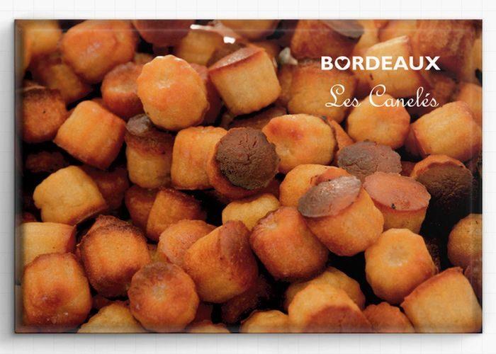 Magnet Canelé de Bordeaux