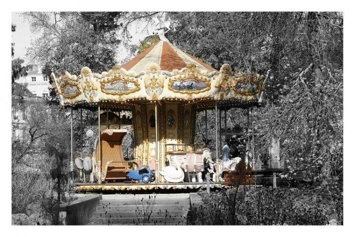 Carte postale Bordeaux Jardin public