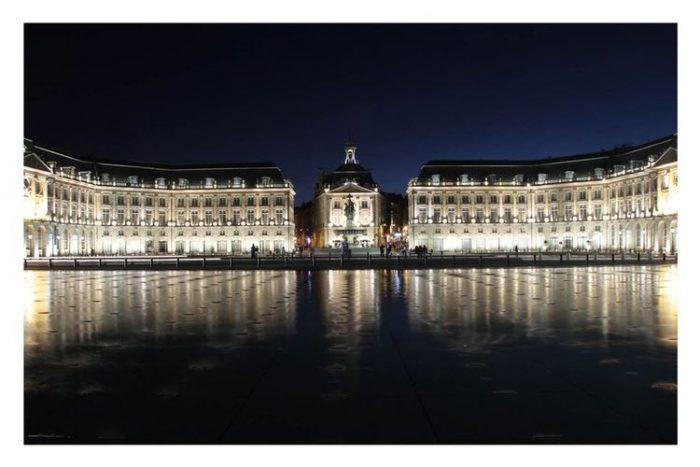 Carte postale Bordeaux Place de la Bourse