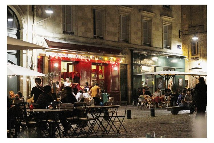 Carte postale bordeaux Place saint-paul