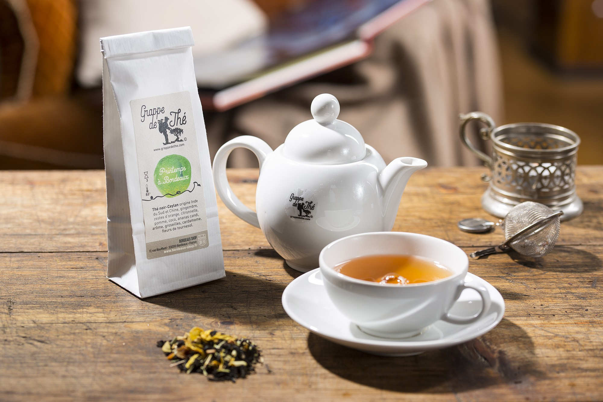 Thé Printemps à Bordeaux GRAPPE DE THE