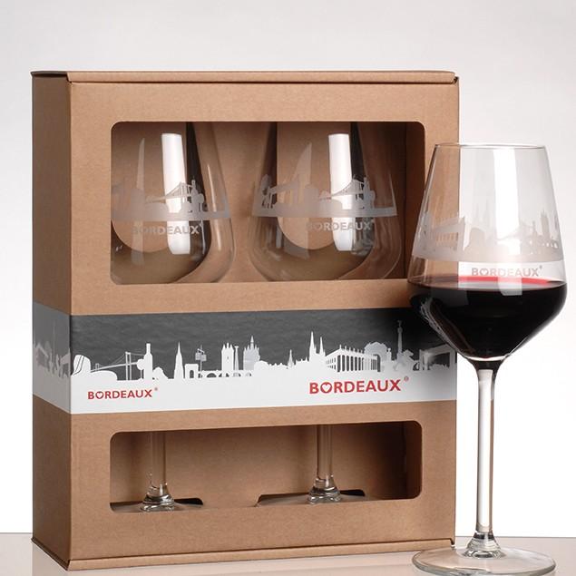 Lot de 2 verres à vin BORDEAUX Skyline®