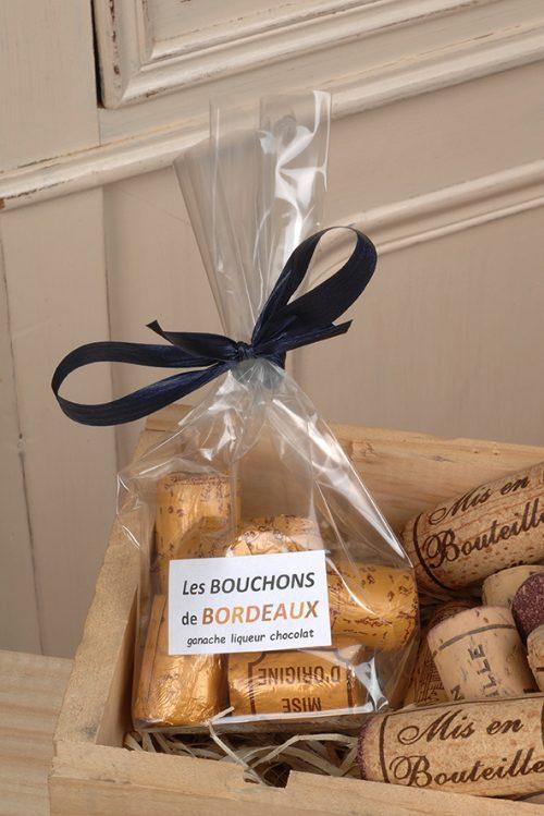 Bouchon de Bordeaux au chocolat