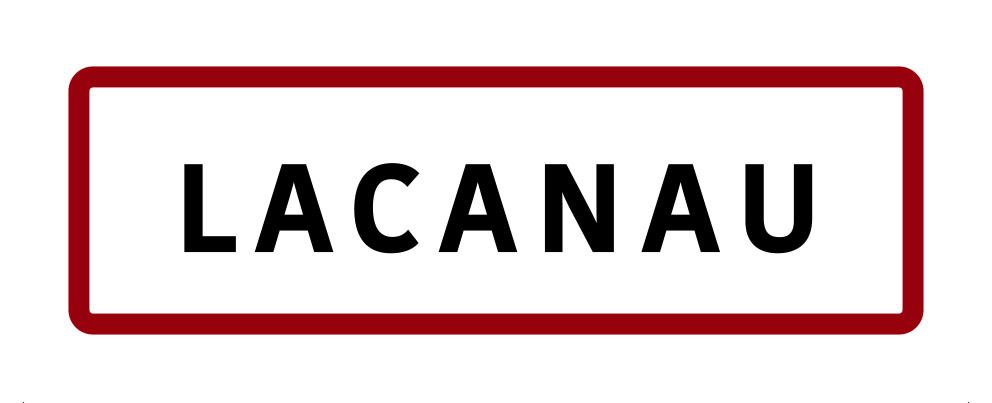 Magnet panneau de signalisation Lacanau
