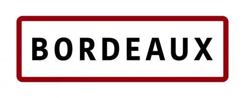 Magnet panneau de signalisation Bordeaux
