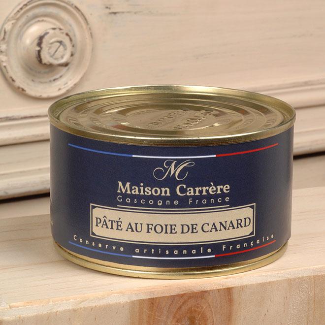 Paté au foie gras de canard Maison Carrère