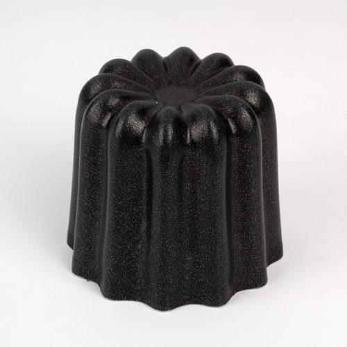 Moule à canelé en aluminium noir