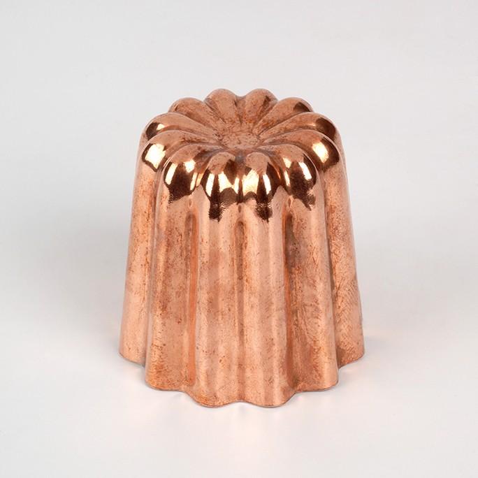 Moule à canelé en cuivre moyen