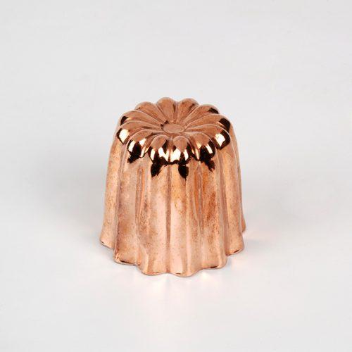 Moule à cannelé en cuivre pour bouchées