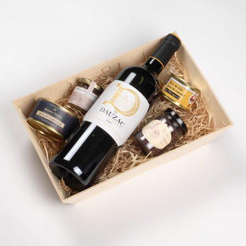 Coffret cadeaux vin D de dauzac