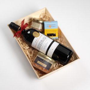 Coffret cadeau vin Côtes de Bordeaux