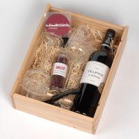 coffret cadeau vin Delphis de la Dauphine