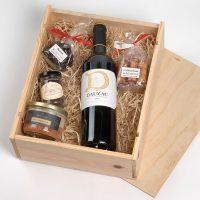 Coffret cadeau vin Bordeaux D de Dauzac