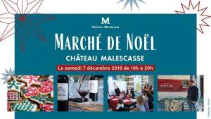 marché de noel chateau de maslescasse 2019