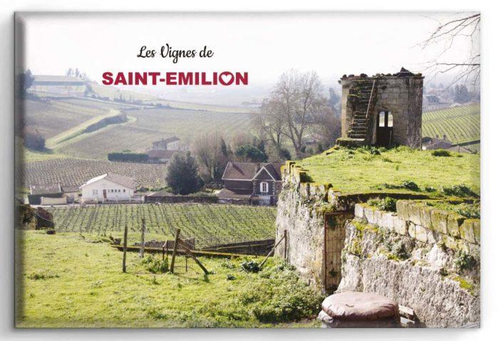 Magnet Saint-Emilion les vignes