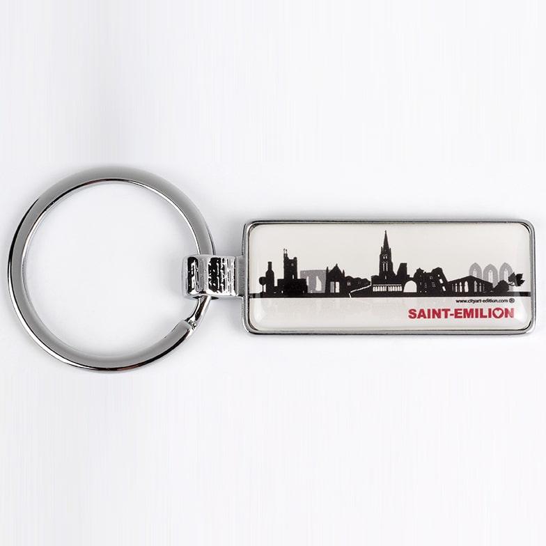 porte-clés skyline saint-emilion