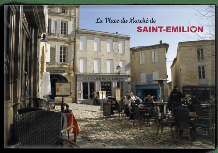 Magnet Place saint-Emilion